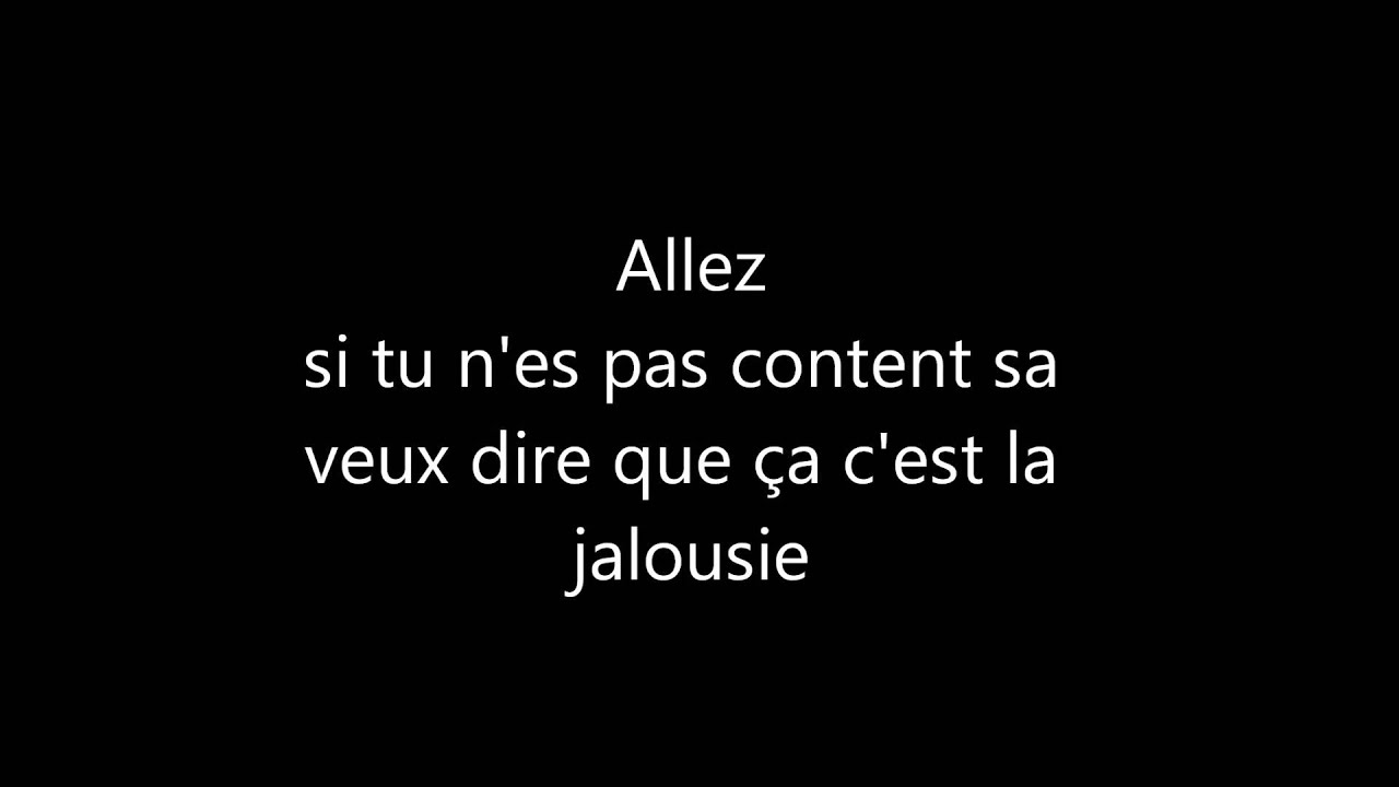 ça c\'est la jalousie - Jay max... [ Lyrics+Paroles] - YouTube