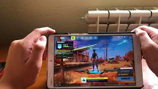 Así se ve fortnite mobile en un dispositivo Android que no está en la lista!😯