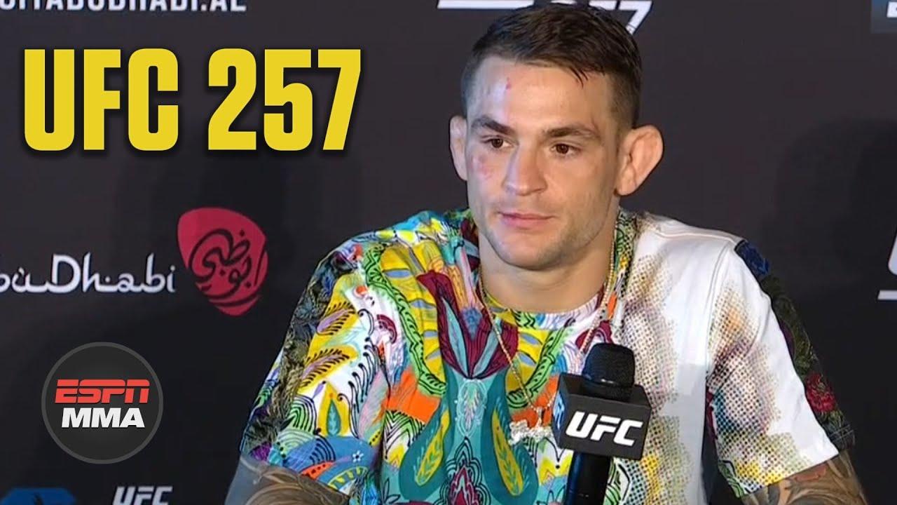 Dustin Poirier calls for Nate Diaz or Conor McGregor trilogy next | UFC 257 | ESPN MMA
