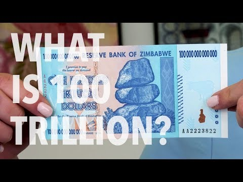 Zimbabwe Currency - 100 Trillion Dollars