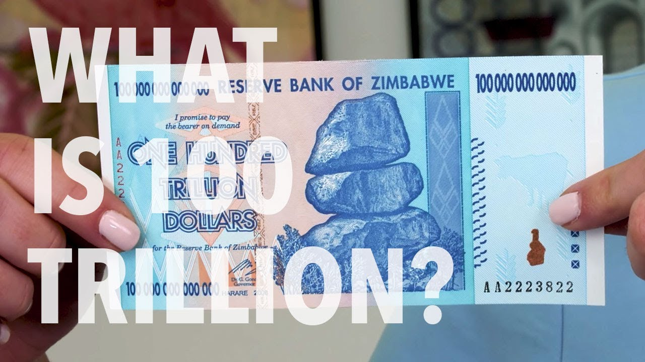 Zimbabwe Currency 100 Trillion Dollars