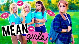 How to Deal with MEAN GIRLS in High School! Niki and Gabi
