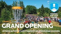 Tampere Disc Golf Center GRAND OPENING, Front 9