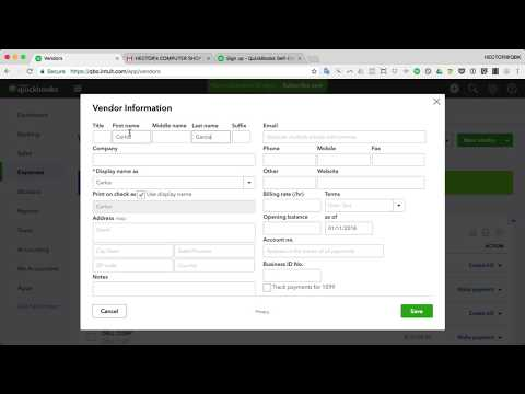 QuickBooks Online 2019 Tutorial: Prepare 1099-Misc Forms (1099 For Independent Contractor)