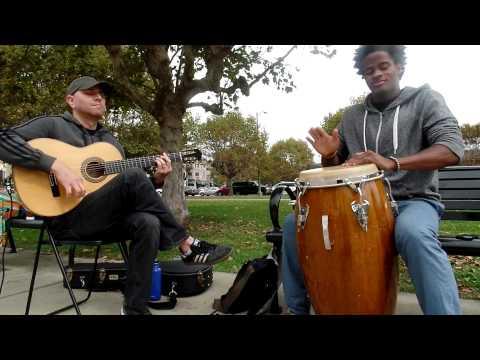 Flamenco Guitar and Haitian Rhythm-Stephen Duros - Jeff Pierre- Path of light