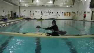 Back Deck Roll In A Sea Kayak