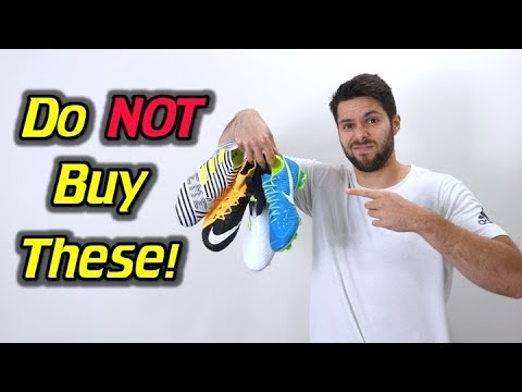 DON'T BUY THESE! - Top 5 Soccer Cleats You Should NOT Buy!