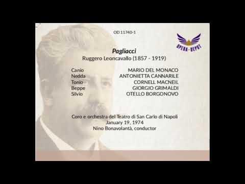 Mario Del Monaco Pagliacci Live 1974 Audio Migliorato