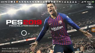 PES 2019 mobile Android Live stream Add me to play a friend match with me ID 885559012
