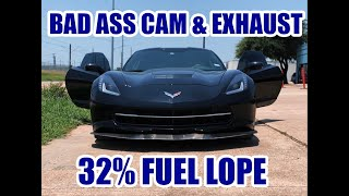 C7 Corvette Stingray -  TUNE & DRIVE Cam Swap, Off-Road Long Tube Headers, Mid-Pipe & Cat-Back