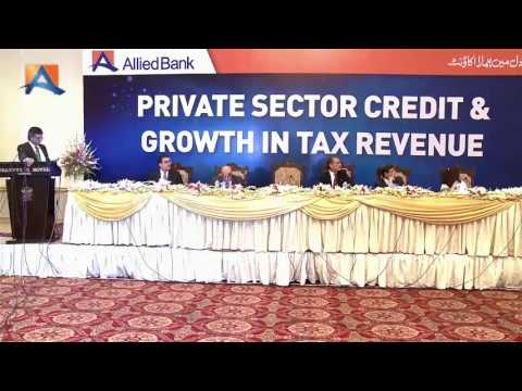Allied Bank Hosts Seminar on 'Private Sector Credit and Growth in Tax Revenue'