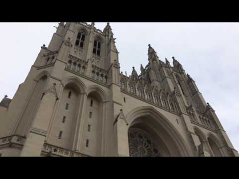 Visiting the National Cathedral in Washington DC