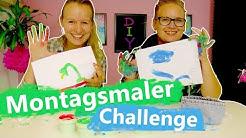 DIY Inspiration Challenge | Montagsmaler mit Fingerfarben | Wer errät am schnellsten die Begriffe?