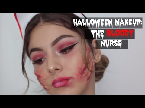 HALLOWEEN MAKEUP | BLOODY NURSE