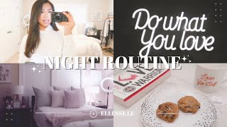 NIGHT ROUTINE ☆ self care before bed, fave cookies + latte, & current night time skincare products