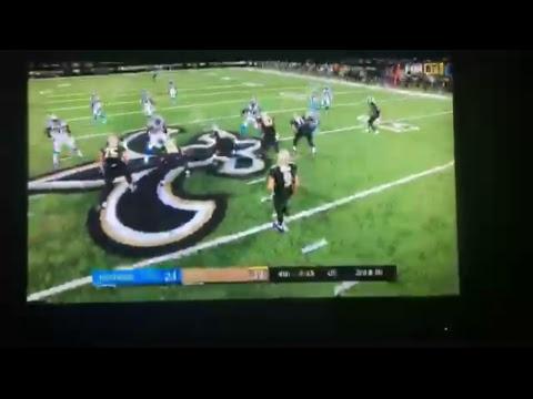 Saints vs Carolina Panthers Live