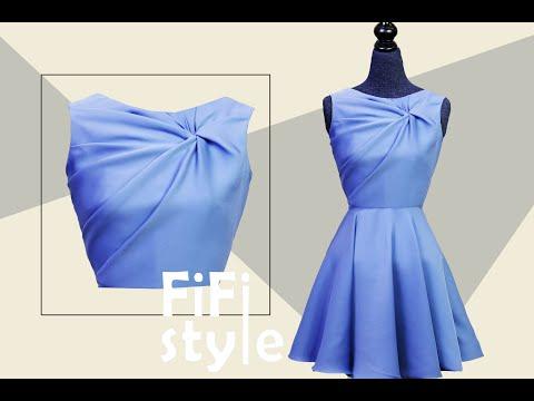FiFi Style : Thiết kế áo xoắn 3 lớp không đường may,bằng phương pháp Draping 3D