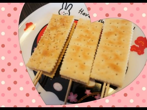 [Mini Kelly] 親子Cooking--懷舊麥芽糖餅 - YouTube