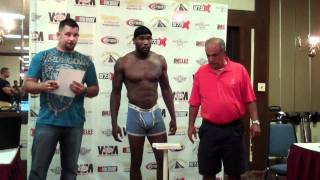 MASS Inauguration Pro Weigh In's - 7/15/2011
