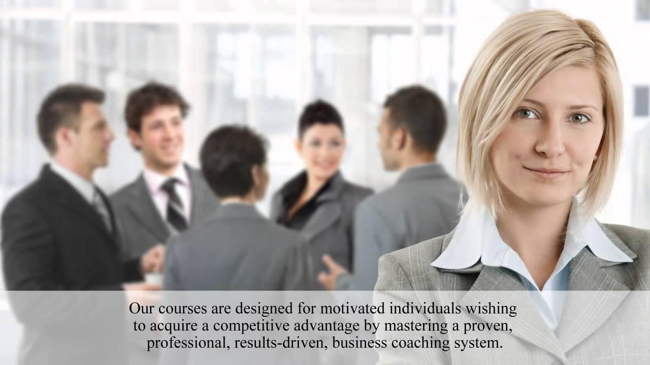 Business Coach Training Executive Coaching Certification Youtube