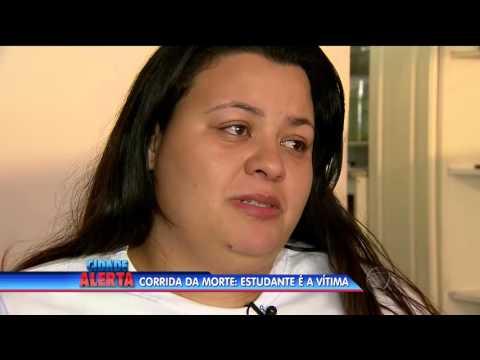 Corrida da morte: estudante vira vítima