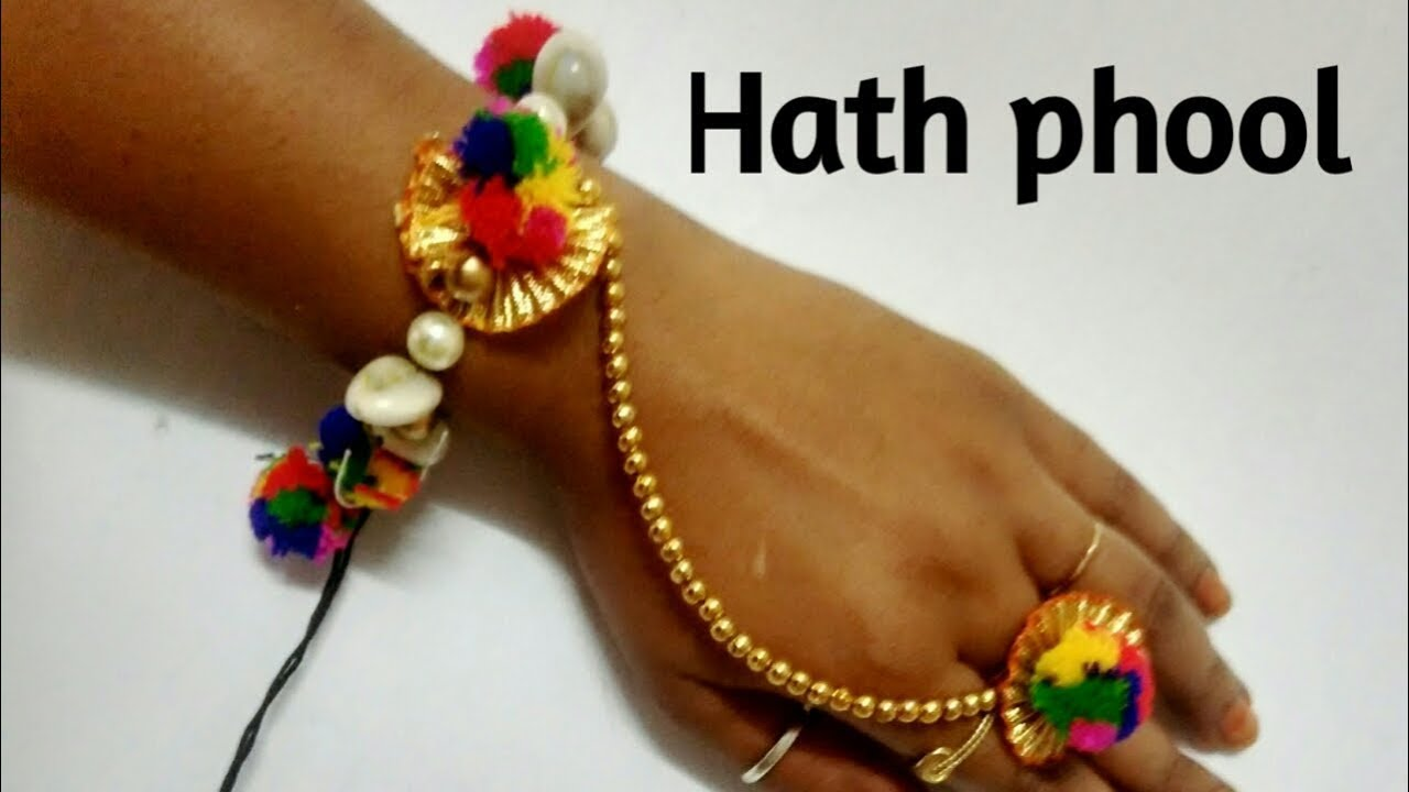 hand chain | hath phool | breslate| Bangles - YouTube