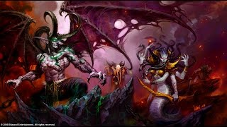 The Story Of  kael'thas with Illidan  And the rise of  blood elves cinematic
