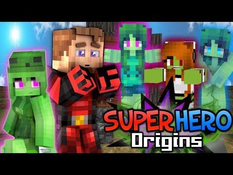VILLAGE OF ZOMBIE GIRLS? - Minecraft Super Hero Origins #13 (Modded Minecraft Roleplay)