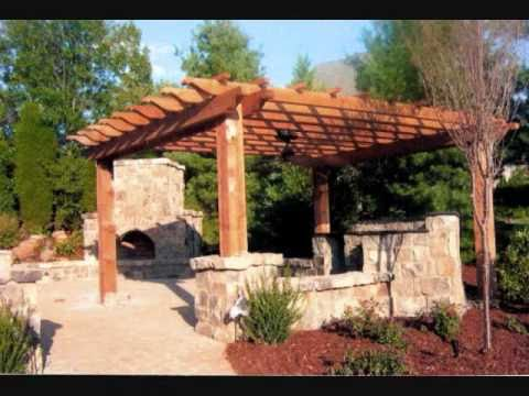 pergola en bois youtube. Black Bedroom Furniture Sets. Home Design Ideas