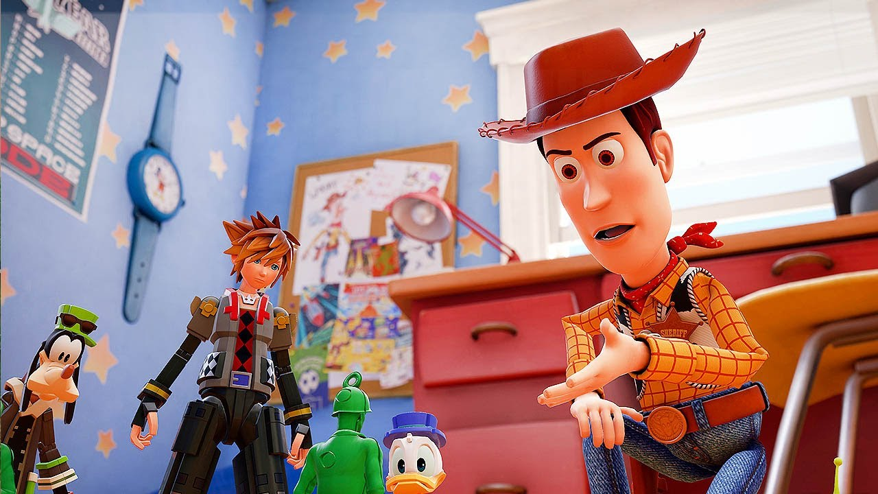 Kingdom Hearts 3 Toy Story Trailer D23 2017 1080p Hd Youtube