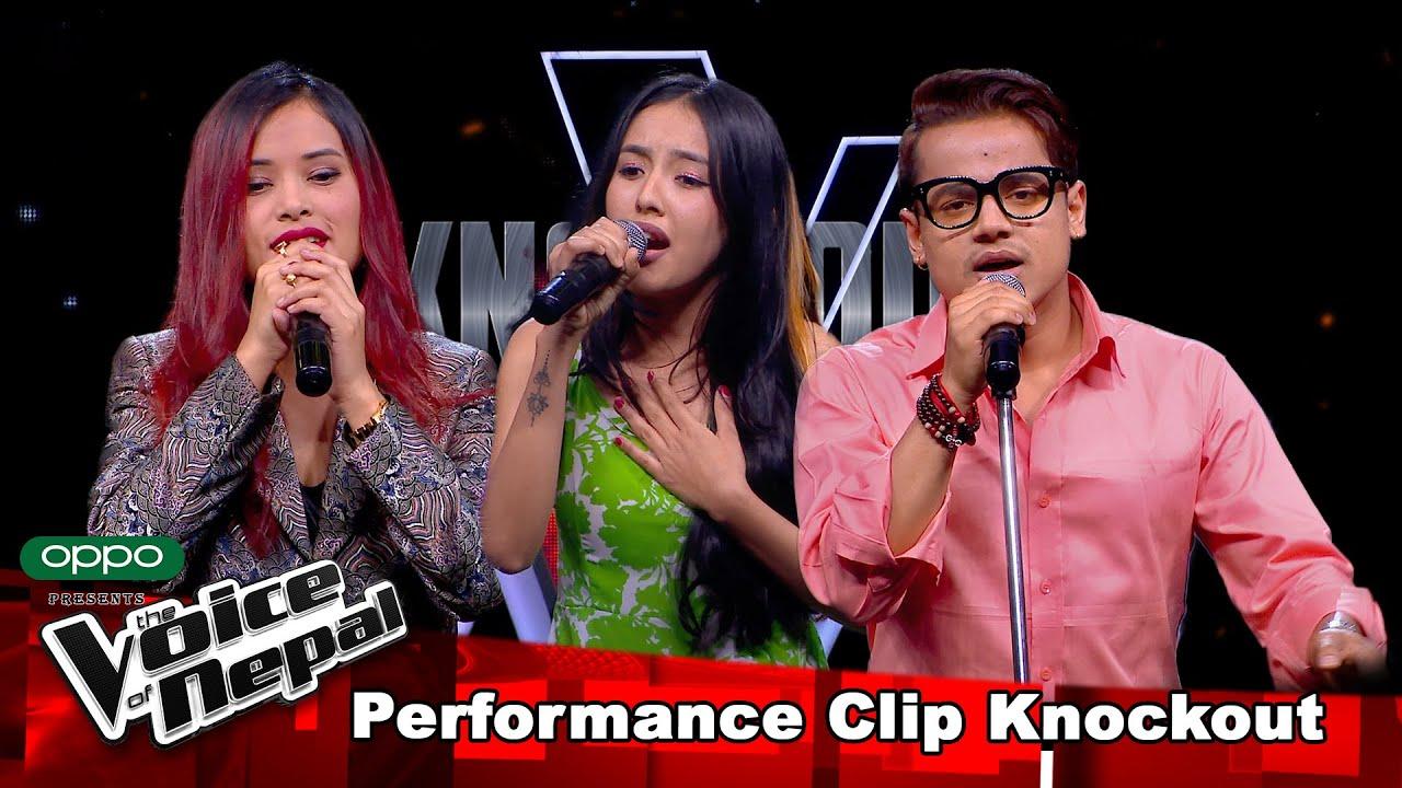 Sudita Vs Kiran Vs Melina  Knockout  The Voice of Nepal Season 3 - 2021