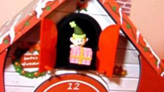 Santa Claus Cuckoo Clock