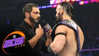 Austin Aries and Neville come to blows before WrestleMania: WWE 205 Live, March 28, 2017