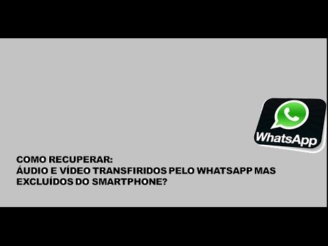 Como recuperar audio de whatsapp iphone