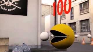 - Pacman underground