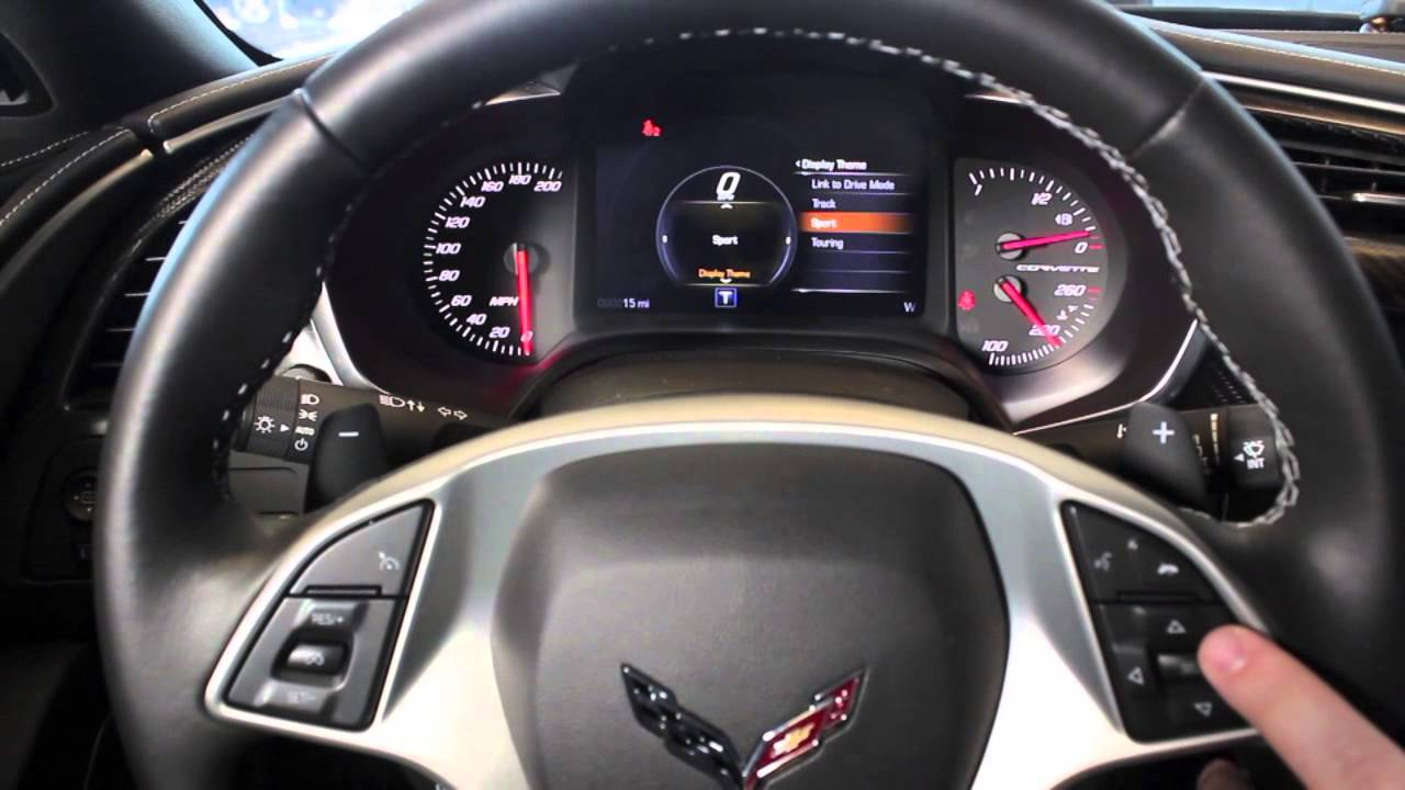Linking The Driver Mode Display With The Dashboard In A