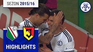 Legia Warszawa - Jagiellonia Białystok 4:0 [skrót] sezon 2015/16 kolejka 22
