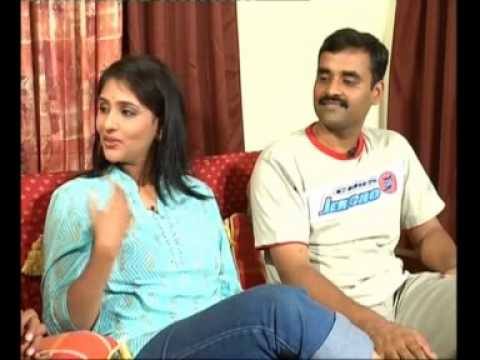 Chit Chat With Tv Anchor Bharghavi And Her Husband 02 Youtube