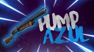 PUMP AZUL?! AGORA ELA É RARA! - Gameplay Fortnite Battle Royale