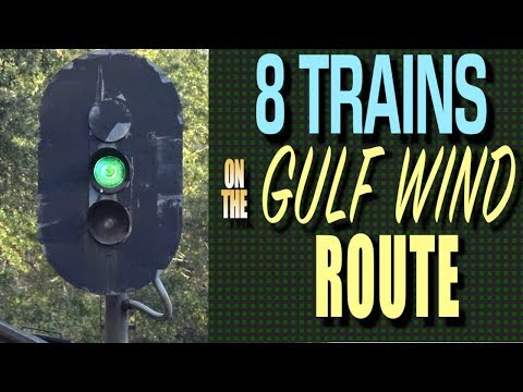 8 Train Adventure On The Gulf Wind Route