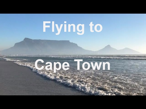 Our Flight To Cape Town, South Africa. Travel Vlog. We got a great Deal!