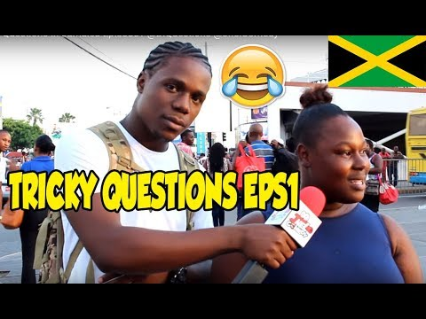 Trick Questions In Jamaica Episode1 [HalfWay Tree] @DiQuestions @JnelComedy
