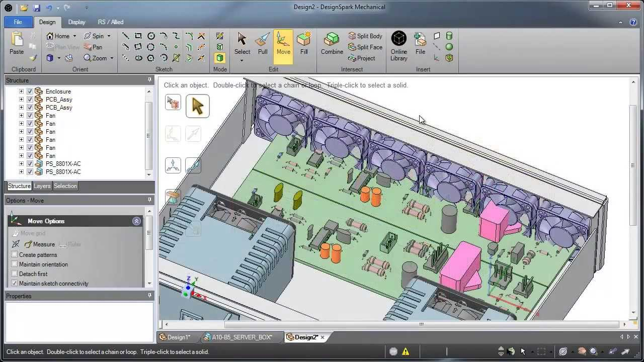 DesignSpark Mechanical Free CAD Software | 3D Printer World