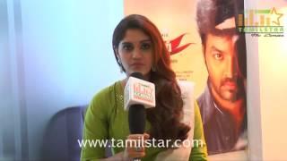 Surabhi At Pugazh Movie Team Interview