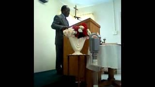 Pastor Preaching 2013
