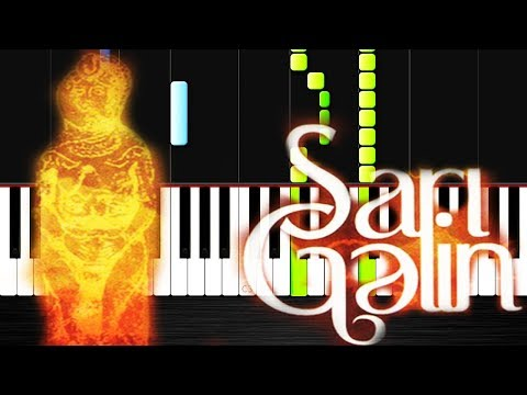 Sari gelin- Piano Tutorial by VN