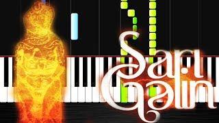 Sari gelin- Piano Tutorial by VN