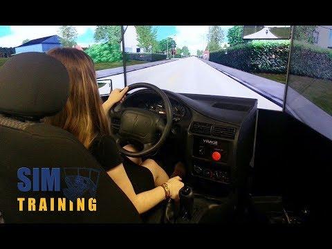 Defensive Driving School Simulator Promo Video