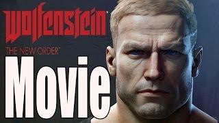 Wolfenstein The New Order - All Cutscenes (Game Movie)