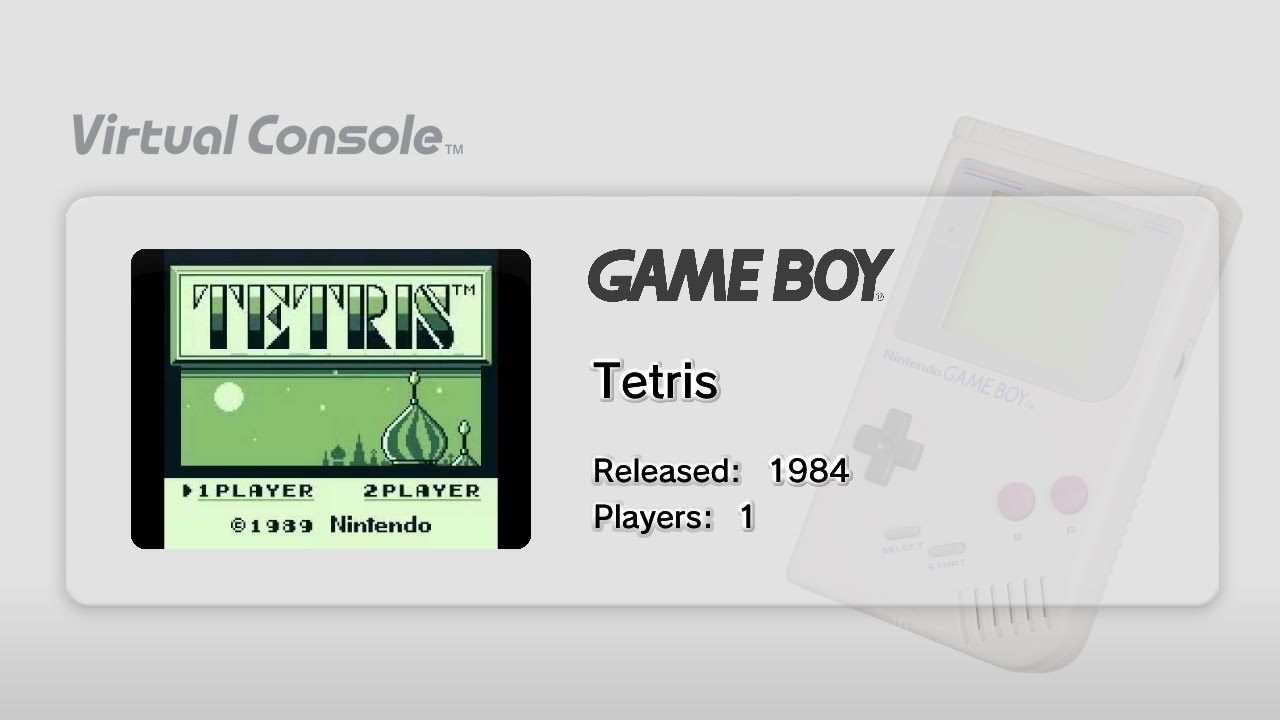 fff56a3648d Gameboy Virtual Console for Wii U Gameplay! (Gamebatte) (Tetris ...